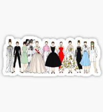 Audrey Group Fashion Sticker