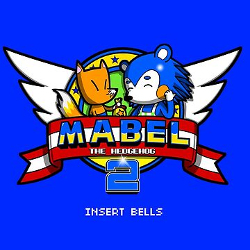 Mabel the Hedgehog 2 by 8-bit-hobo