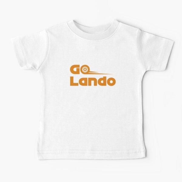 Go Lando (naranja) Camiseta para bebés