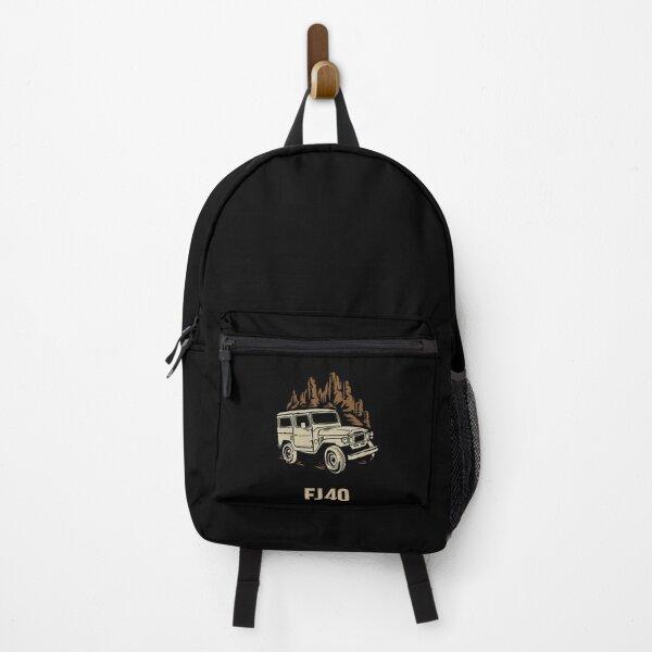 TOYOTA CRUISER FJ 40 transparent Backpack