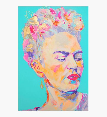 Flower Crown Frida  Photographic Print