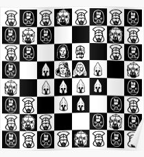 Lord of the chess Poster