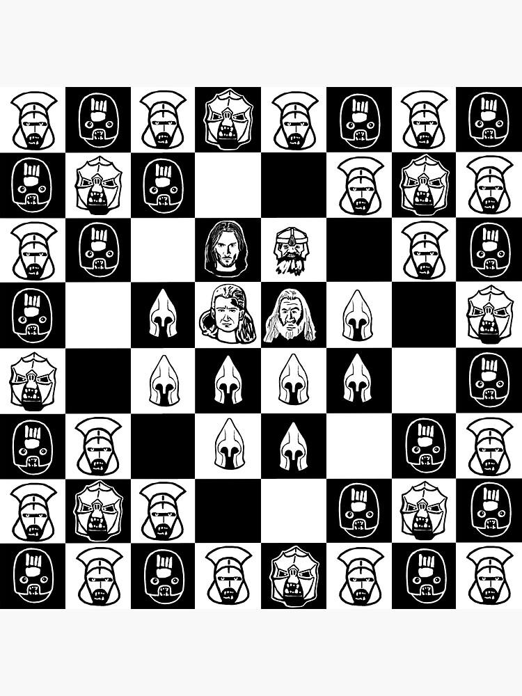 Herr des Schachs von dahorvatic