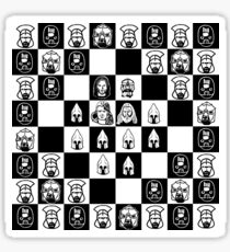 Lord of the chess Sticker