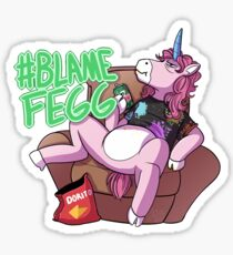 #BlameFegg Sticker