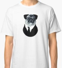 Pug in a suit Classic T-Shirt