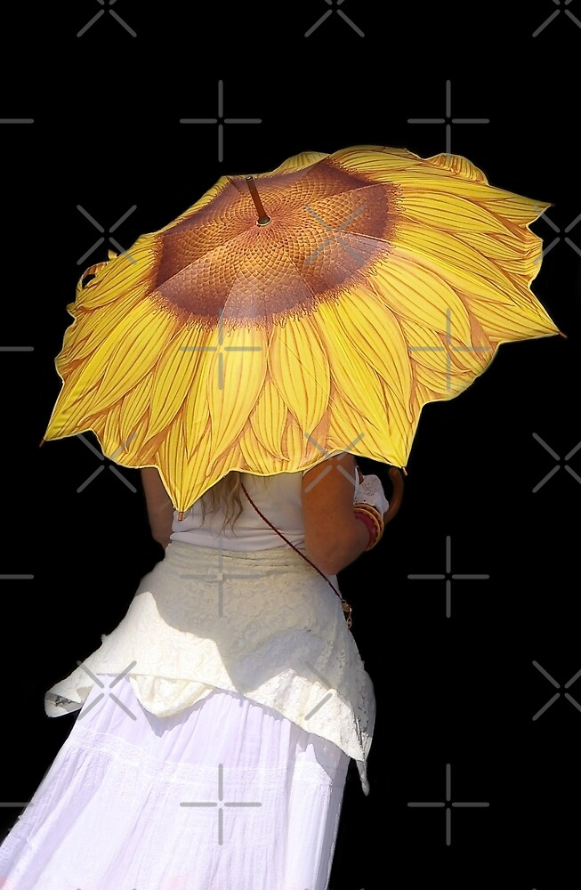 Sunflower Brolly by Heather Friedman