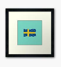 Swedish Patriot Framed Print