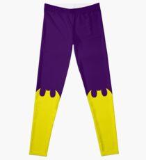 Bat Leggings Purple Leggings
