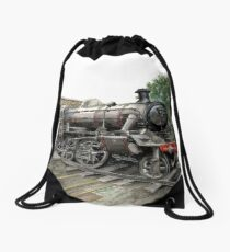 Loughborough Train Station  Drawstring Bag
