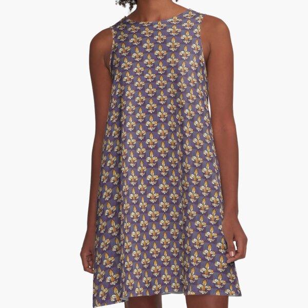 LSU TIGERS A-Line Dress