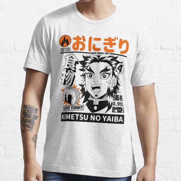 "Demon Slayer Food ""Rengoku"" Essential T-Shirt"