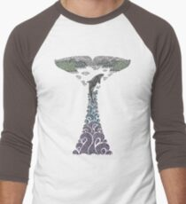 Orca whale tail illustration T-Shirt
