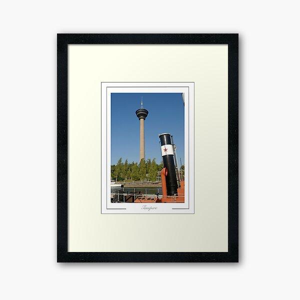 Tampere Finland.  Nasinuela Observation Tower. Framed Art Print