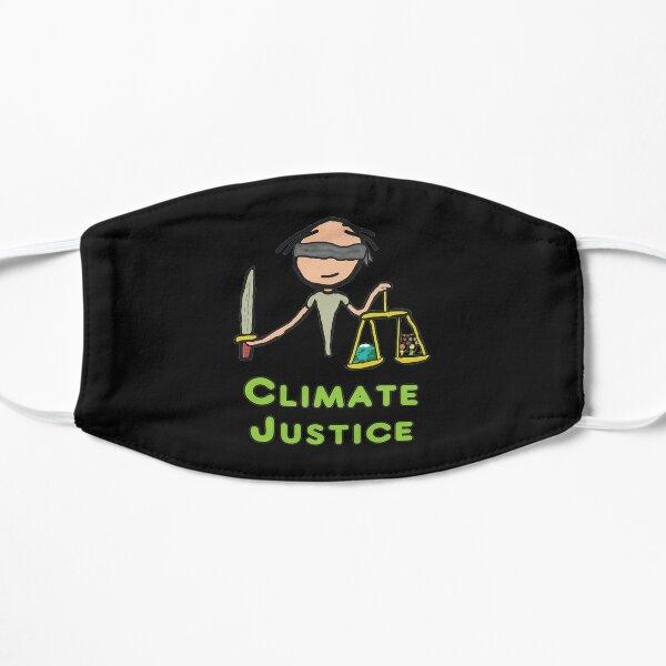 Klimagerechtigkeit Flache Maske
