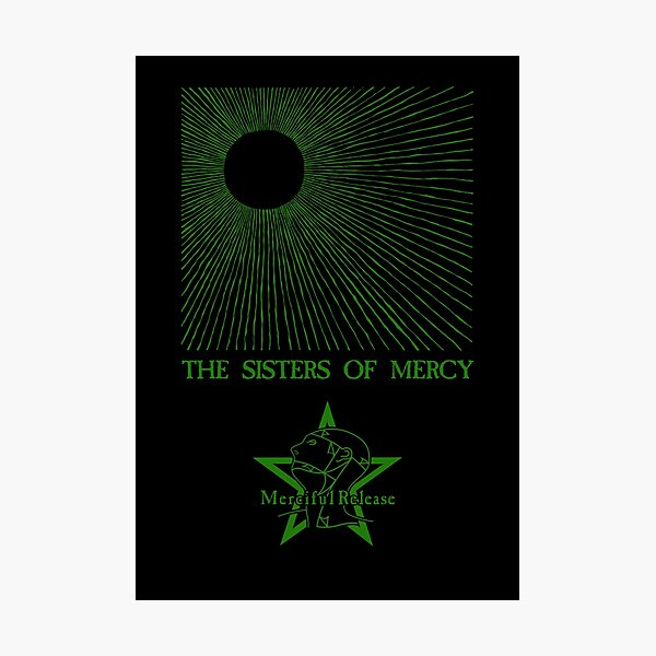 The Temple of Love - The Sisters of Mercy Photographic Print