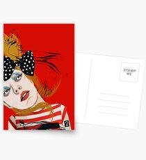 Scarlet Sings Postcards