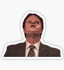 Dwight the office  Sticker