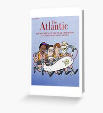 Ghostbusters: Atlantic Magazine Cover Greeting Card