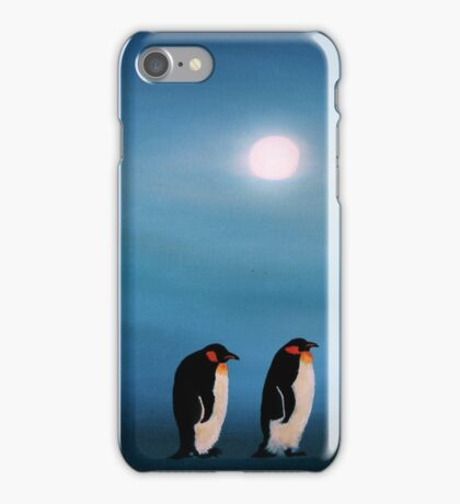 Pick-up-a-Penguin! iPhone Case/Skin