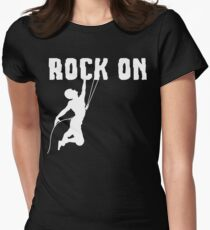 Rock On Rock Mountain Climbing T Shirt T-Shirt