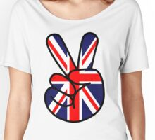 Peace British Style Women's Relaxed Fit T-Shirt