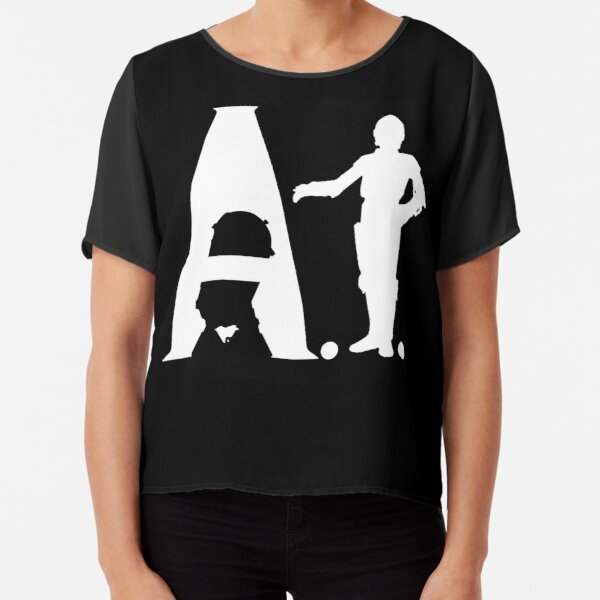 Artificial Intelligence Chiffon Top
