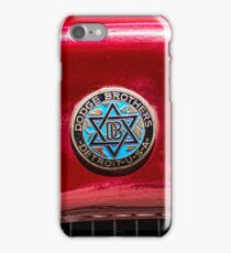 Vintage Dodge Brothers star of David  Logo iPhone Case/Skin