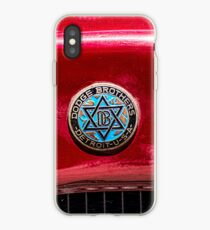 Vintage Dodge Brothers star of David  Logo iPhone Case
