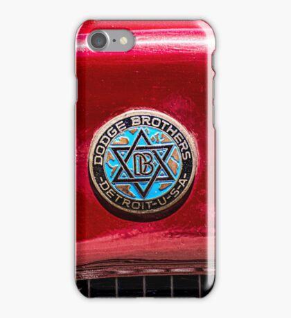 Vintage Dodge Brothers star of David  Logo iPhone Case/Skin