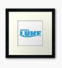 Finding Luke Framed Print