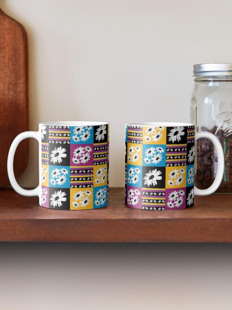 Alternate view of Daisy Love Patchwork Mug