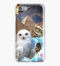 I Dream of Space Owls iPhone Case/Skin
