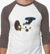Cake & Potatoes BG 2 Men's Baseball ¾ T-Shirt