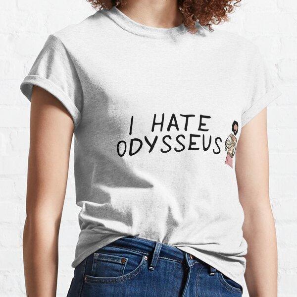 Greek Myth Comix - I HATE Odysseus Classic T-Shirt