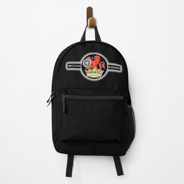 BRITISH RAILWAYS. BR, Ferret & Dartboard, Crest Logo. 1956 to 1965. Train Spotter. Backpack