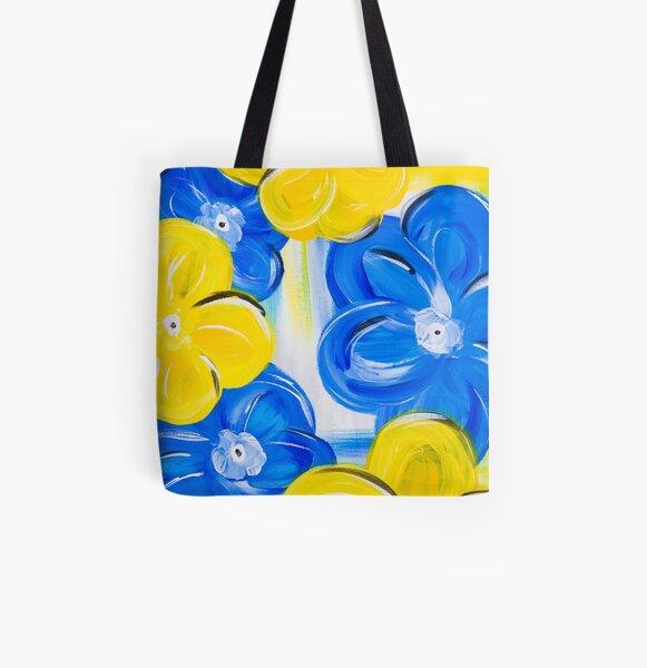 Floral in Springtime All Over Print Tote Bag