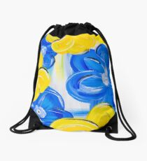 Floral in Springtime Drawstring Bag