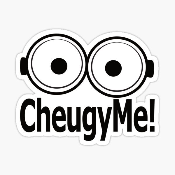 Cheugy Me! T-Shirt Sticker