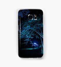Arched tree with light paint Samsung Galaxy Case/Skin