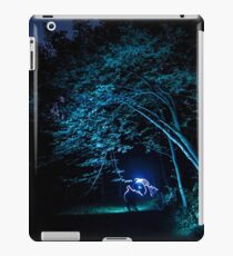 Arched tree with light paint iPad Case/Skin