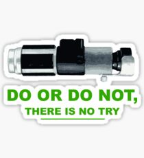 Yoda (do or do no, there is no try) Sticker