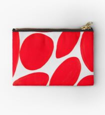 Red Spots Studio Pouch
