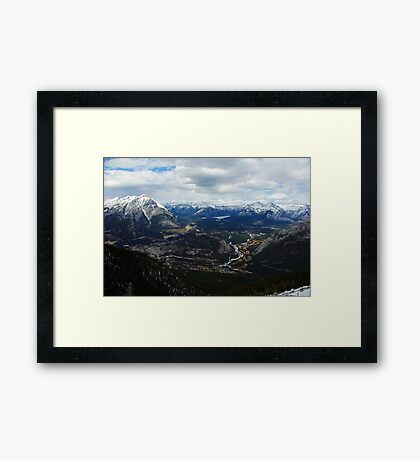 Town of Banff Framed Print