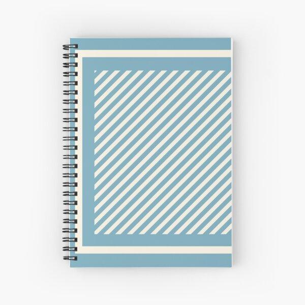 Milky Blue Spiral Notebook