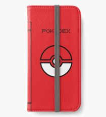 Pokemon Dexter (color) iPhone Wallet