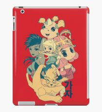 Manga Adventure Time iPad Case/Skin