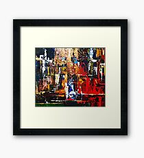Last station. Framed Print