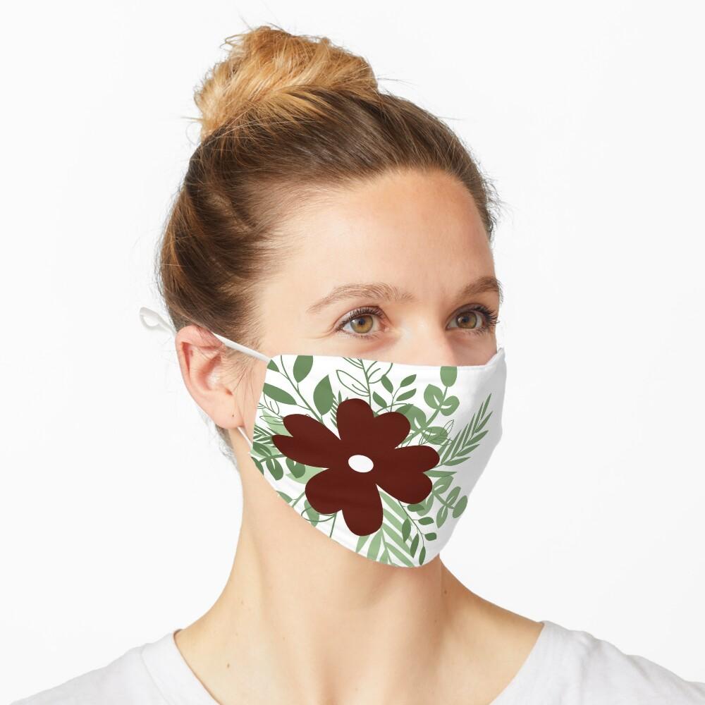 Wild flower  Mask