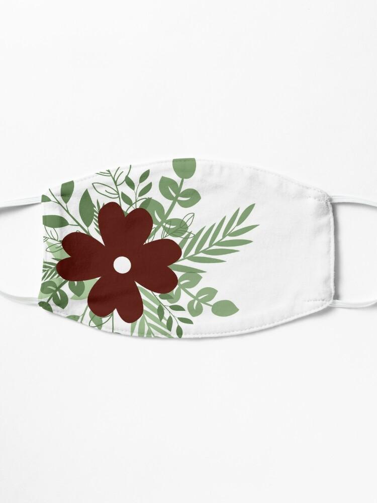 Alternate view of Wild flower  Mask